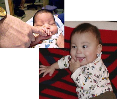 Baby en Quantum-Touch