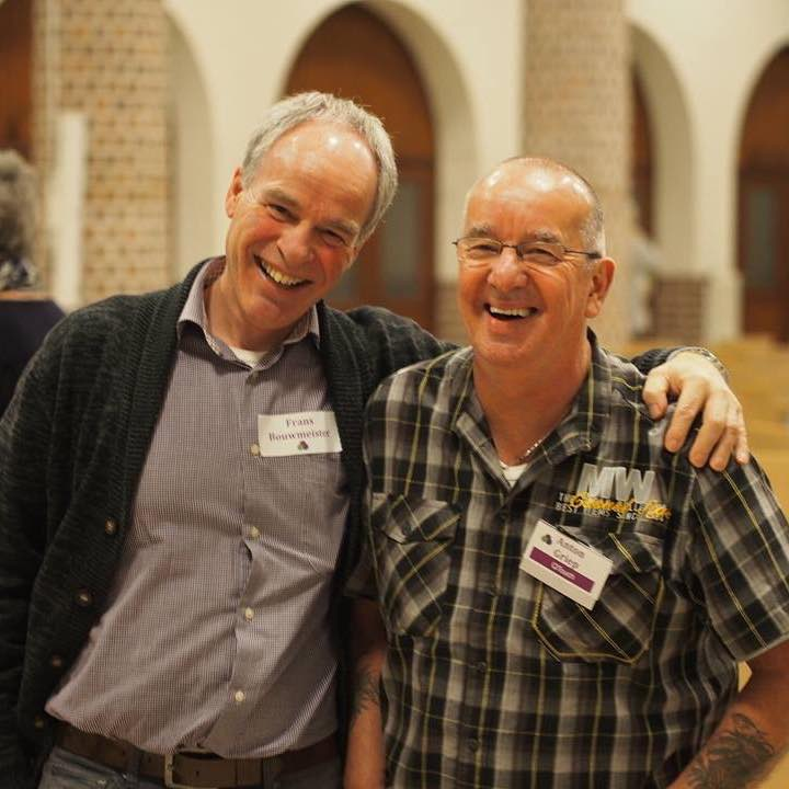Frans Bouwmeister en Anton Griep