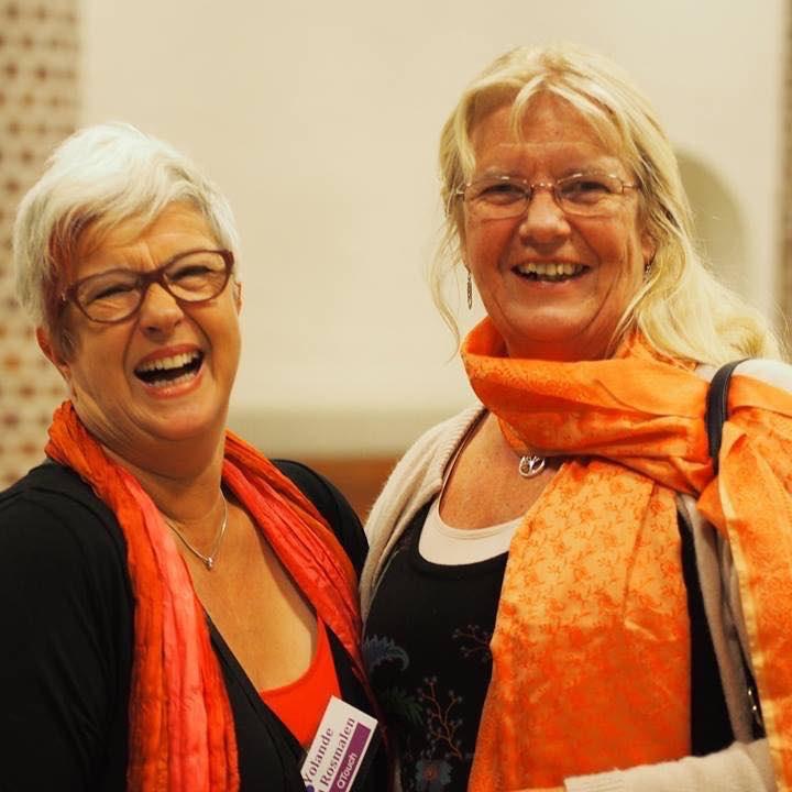 Yolande van Rosmalen en Els van Wissen